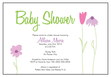 Baby Invite Template. baby shower invite template best template ...