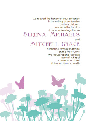 Standard Wedding Invitation Set Includes Printable Template With 5 By 7 Matching Rsvp And Thank You Card 14 95