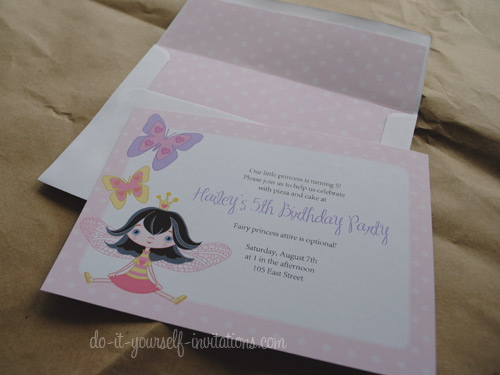 Birthday Invitations Diy Chatterzoom - Creative diy birthday invitations in a box