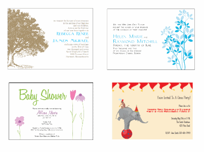 Design Your Own Invitations Free