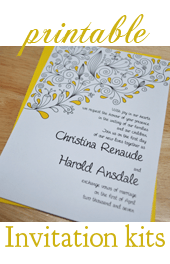 Wedding Invitations Photo Cards How To Make Your Own Using Word 5