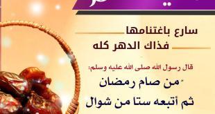 توجيهات - من صام رمضان ثم أتبعه ستا من شوال