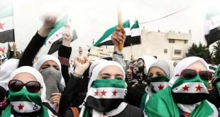 الثورة السورية - مشاركة النساء في المظاهرات - ما لها وما عليها