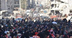 الثورة السورية - ذكرى تهجير أهل حلب الذين لم يرضوا بالعبودية