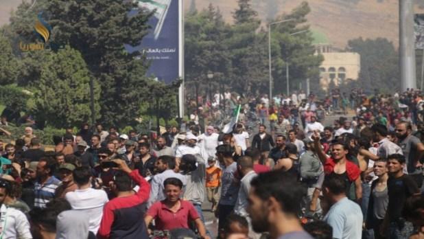 الثورة السورية - مظاهرات إدلب