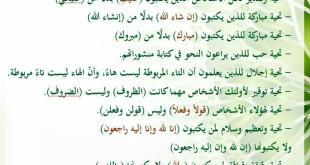 منوع - كتابة عربية فصيحة