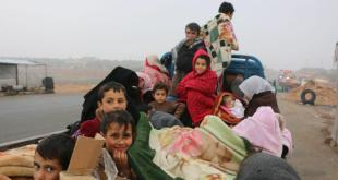 حدث وتعليق - النازحون السوريون