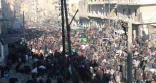 كانون الأول - تهجير أهالي مدينة حلب