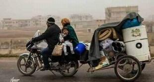 الثورة السورية - فلنكن عونا وسندا لإخواننا المهجرين قسرا