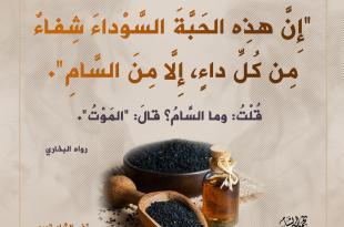 الطب النبوي - الحبة السوداء - حبة البركة