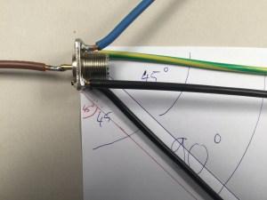 Groundplane 2m/70cm Auflage mit 2 bereits gebogenen Radials