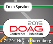 DOAG 2015 Conference + Exhibition