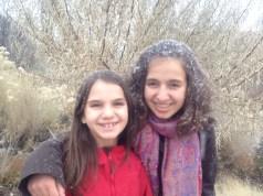 Erste Schneeflocken auf dem Museum Hill!