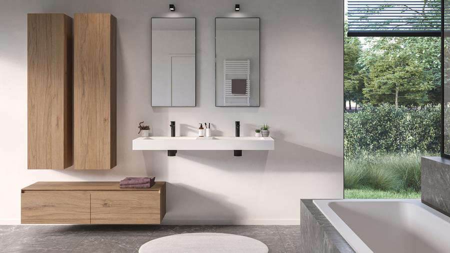salle de bains toute neuve