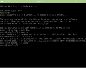 Boot do Debian para ARM