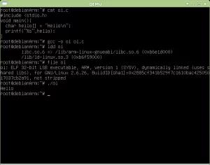 ARM compilação