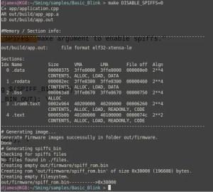 Compilando o firmware