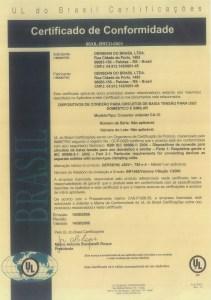 Certificado de conformidade
