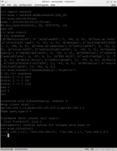 Configurando WiFi no ESP8266 com MicroPython