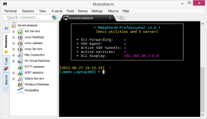 conexão remota ao Raspberry - Moba - MobaXterm