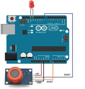 MQ3 wiring