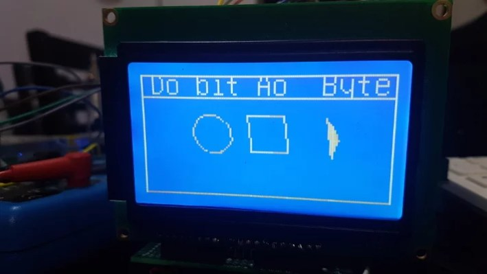 display 128x64 com Arduino
