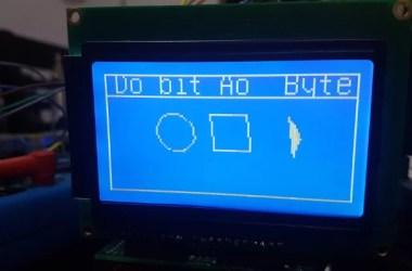 display 128x64 com Arduino