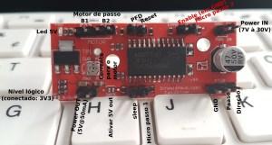 como utilizar o EasyDriver - pinout