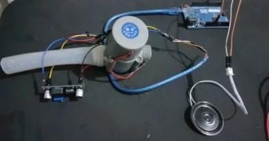 mini gerador de energia hidrelétrico