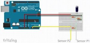 Sensor de corrente não invasivo - wiring