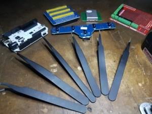 pinças - ferramentas de bancada