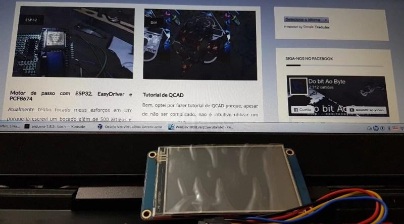 Nextion Display nx4024t032