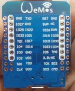 ESP32 Wemos - relógio cuco