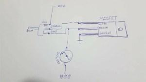 motor dc com pwm