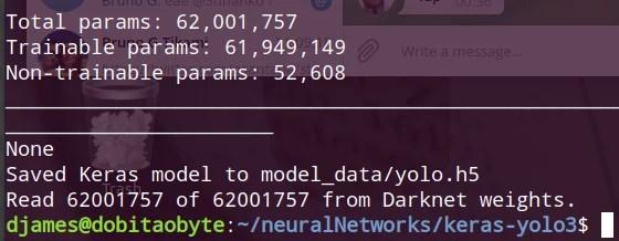 Darknet Yolov3