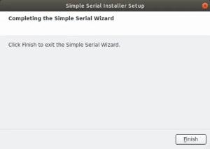 Como criar instalador - instalação concluída