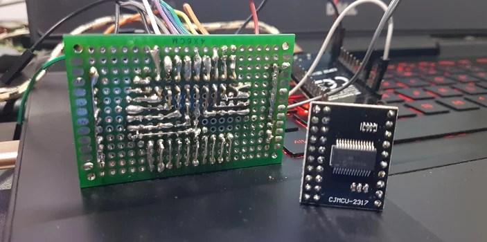 Expansor de IO MCP23017 com ESP32 • Do bit Ao Byte