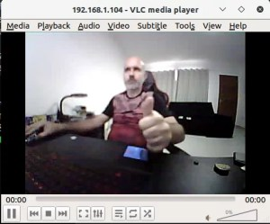 Stream da câmera da TTGO