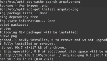 criar um servidor de repositório