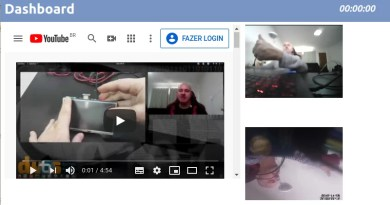 Monitor de câmeras com Qt