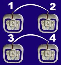 Balança com Arduino - fio branco