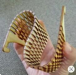 MDF flexível - pulseira