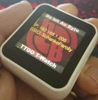 smartwatch com esp32