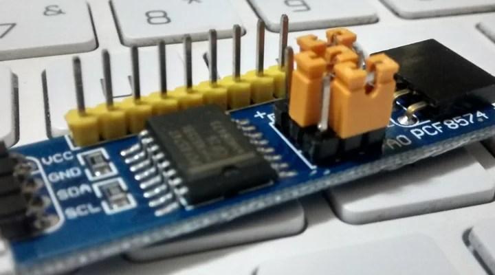PCF8574 com Arduino