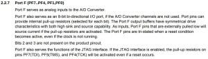 Arduino Pro Micro - Analog as digital pin
