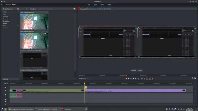 editores de vídeo grátis - LightWorks