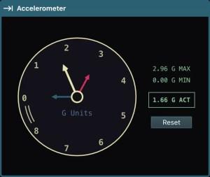 Serial Studio - acelerômetro
