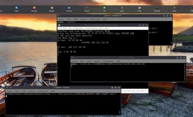 porta serial pela rede - imagem do vídeo