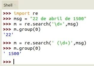 regex no MicroPython - search