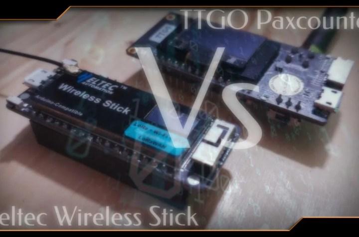 PaxCounter ou Heltec Wireless Stick